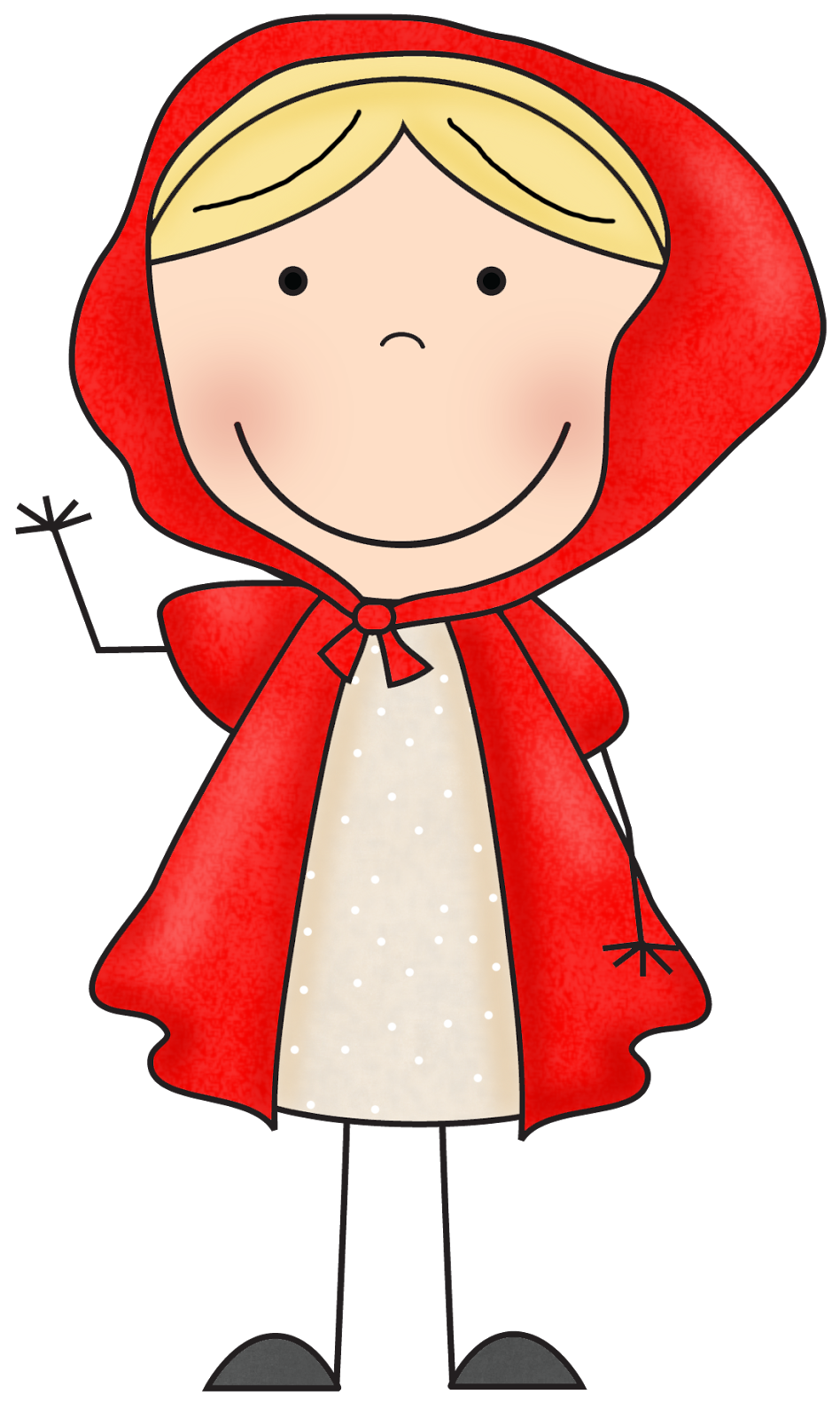 Red Riding Hood clipart Clipart Elena doodles on Pin