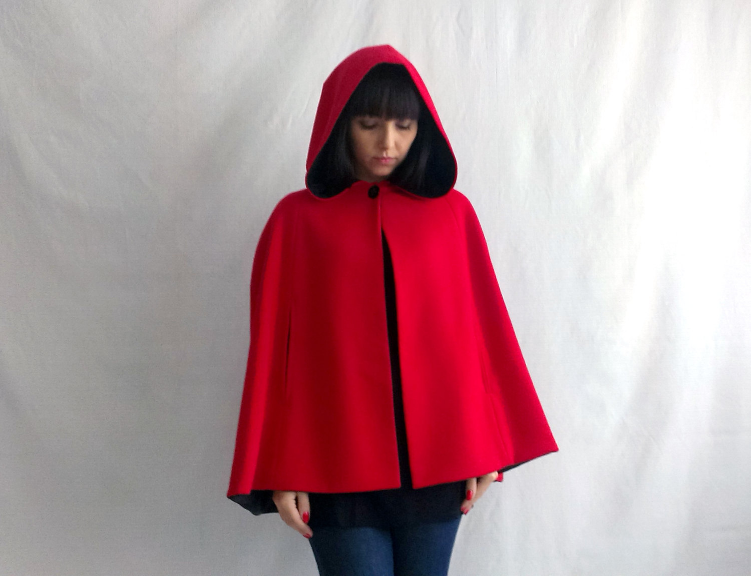 Coat clipart hood Little riding cape Red riding