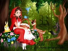 Red Riding Hood clipart disney DeviantART by Riding wallpaper Red