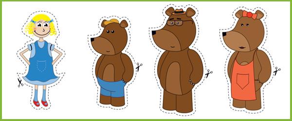 Brown Bear clipart 3 bears Early Free Bears Three three