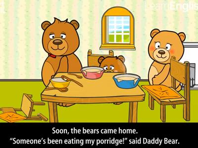 Red Riding Hood clipart goldilocks and the three bears Kids the by bears 2:00