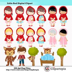 Red Riding Hood clipart grandma #13