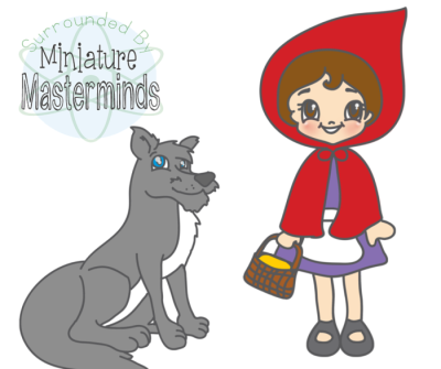 Red Riding Hood clipart hungry wolf Riding Red Riding Preschool Little