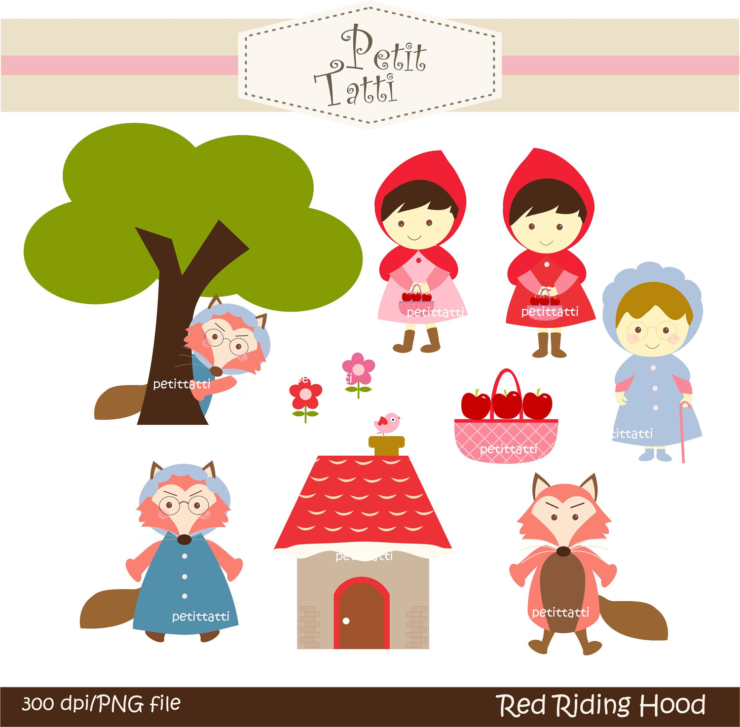 Red Riding Hood clipart kid Red clipart Download clip clipart