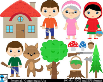 Red Riding Hood clipart kid Little clipart Clip Red Riding