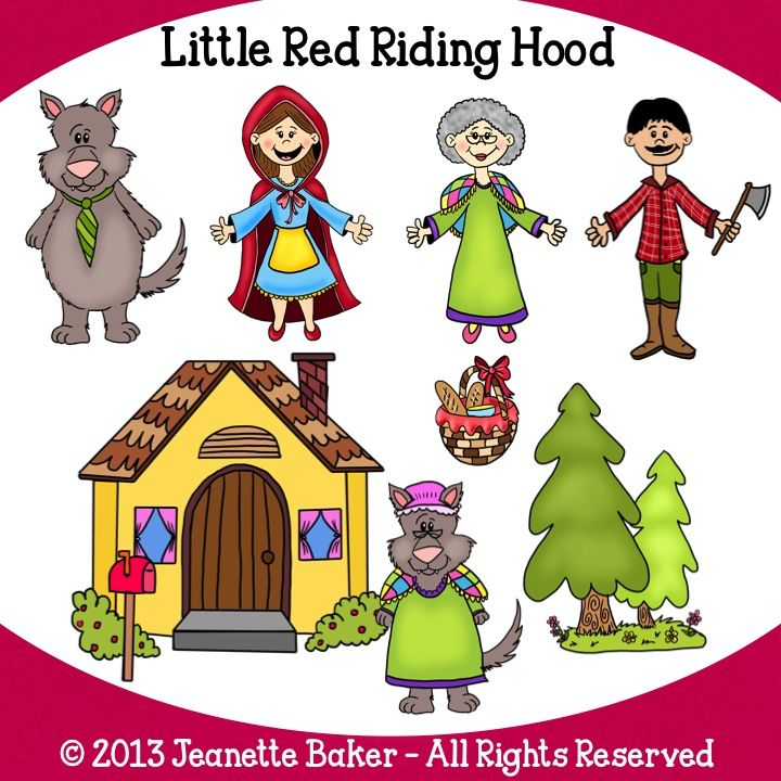 Red Riding Hood clipart kid Little Teach by Red Riding