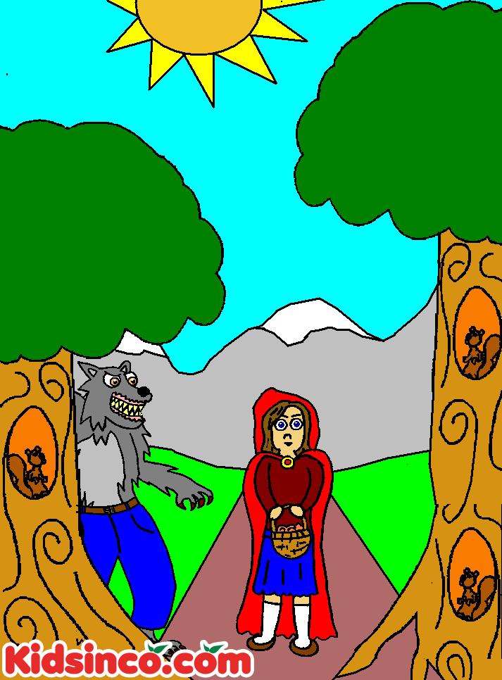 Red Riding Hood clipart red writing S Red Playscripts for Red