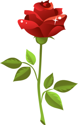 Yellow Rose clipart red #1