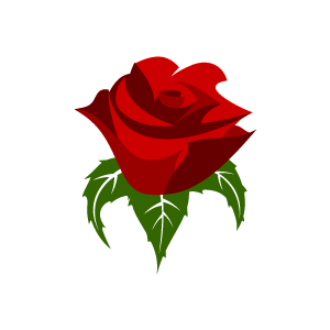Red Rose clipart Rose Red Clipart Red Fans