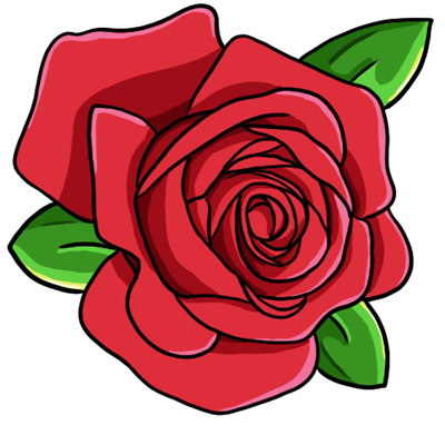 Red Rose clipart Vector Clip Rose Images Art