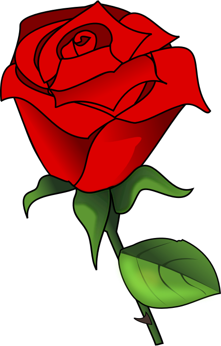 Red Flower clipart r0se #5