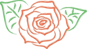 Red Rose clipart bloom #5