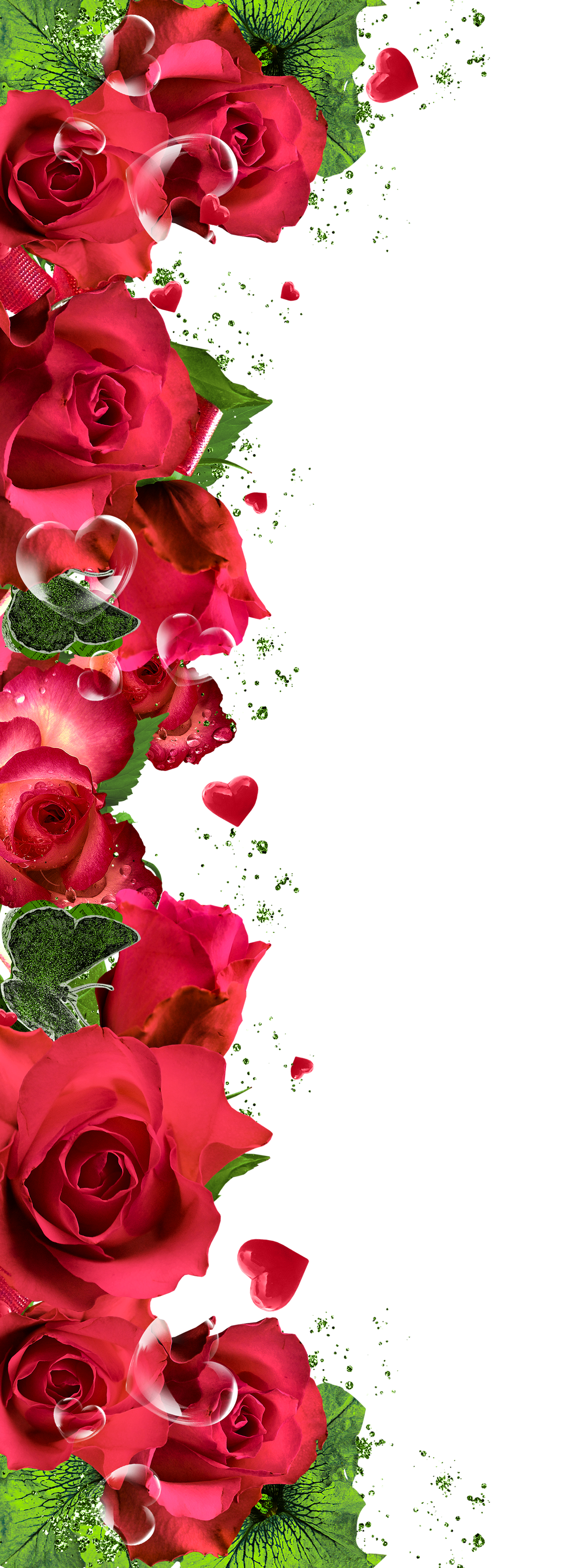 Red Rose clipart decorative #7