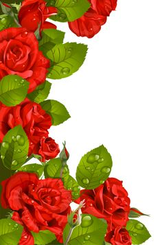 Red Rose clipart decorative #2