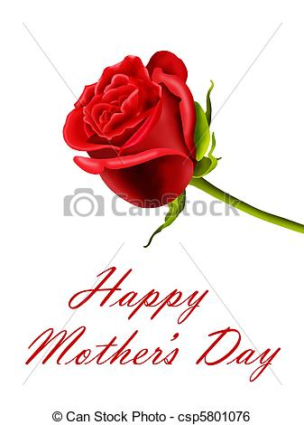 Red Rose clipart mothers day #5