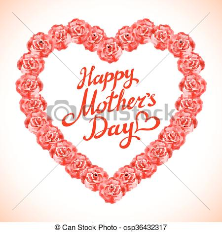 Red Rose clipart mothers day #7