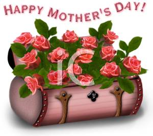 Red Rose clipart mothers day #8