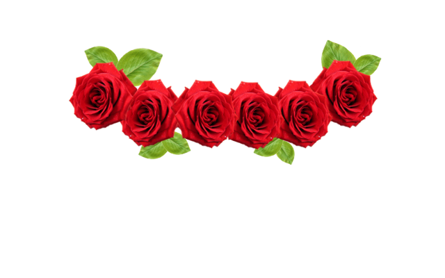Red Flower clipart crown #1