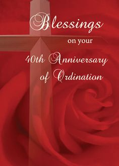 Red Rose clipart priestly ordination #2