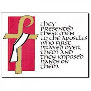 Red Rose clipart priestly ordination #13