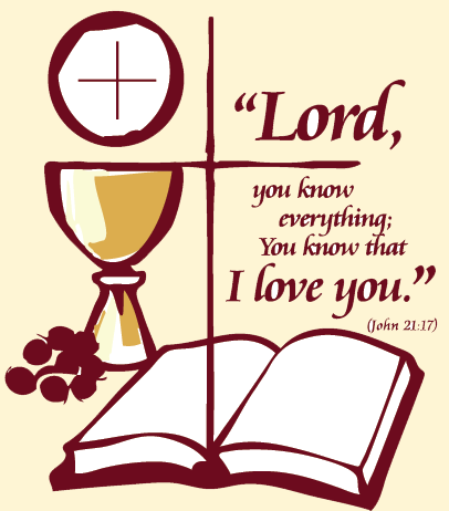 Red Rose clipart priestly ordination #14