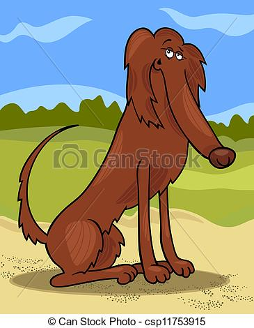 Red Setter clipart dog breed #3