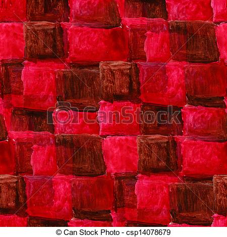 Seamless Stock red square Stock