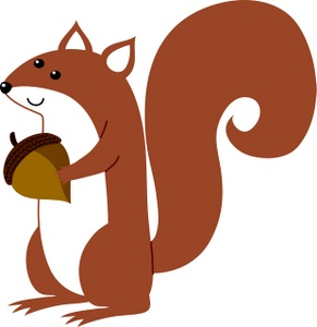 Red Squirrel clipart Clipart Free Images Clipart Squirrel