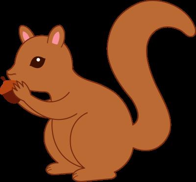Squirrel clipart Squirrel a clipart free 3