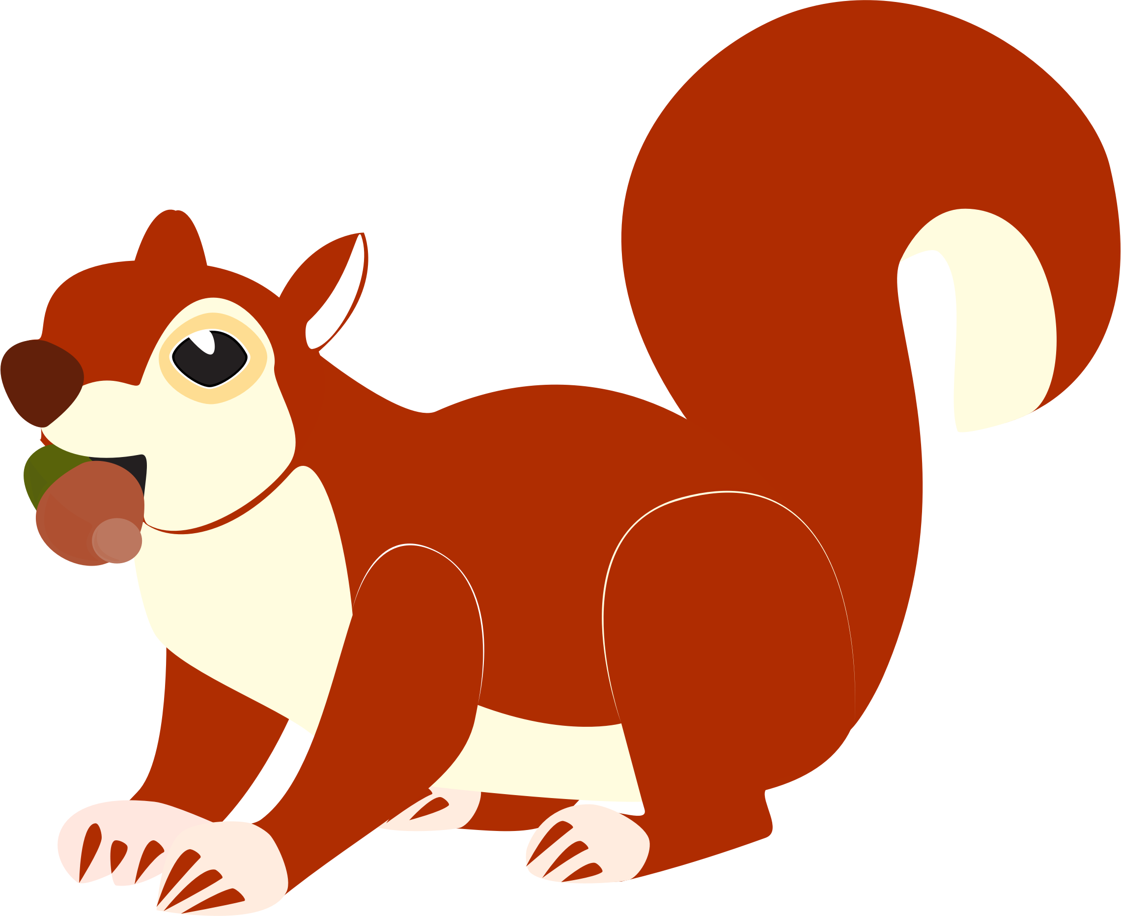 Red Squirrel clipart Download Download Red svg svg
