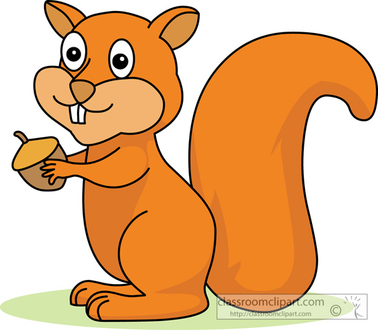 Red Squirrel clipart Art Kb Squirrel Illustrations Clip