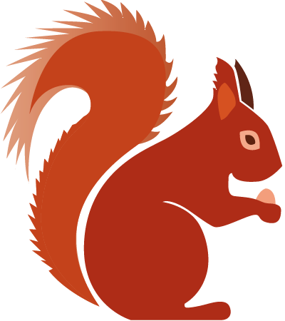 Red Squirrel clipart Our to Red  Conserving