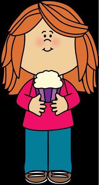 Redhead clipart cute A Art Cupcake Clip Girl