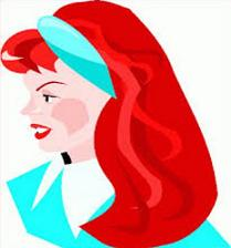 Redhead clipart hair color Redhead hair people Free Tags: