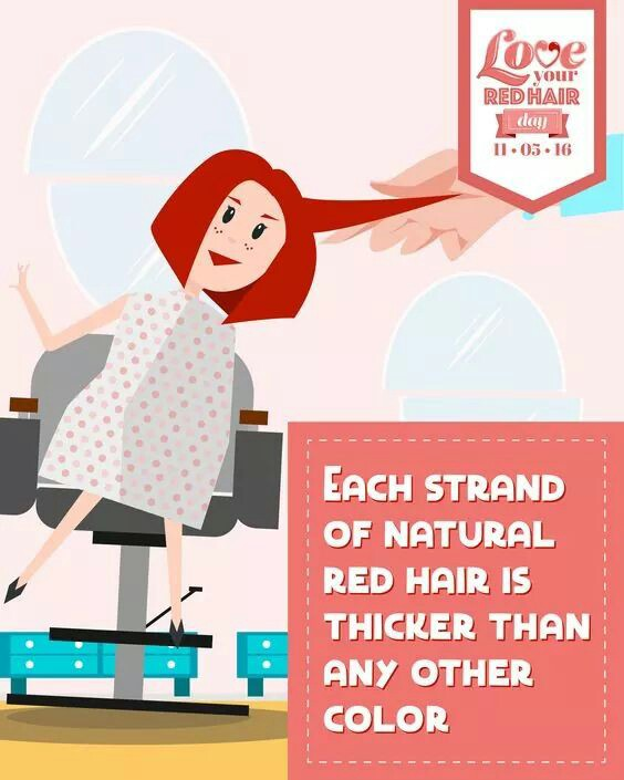 Redhead clipart hair color By Redhead Jan Awesome Facts