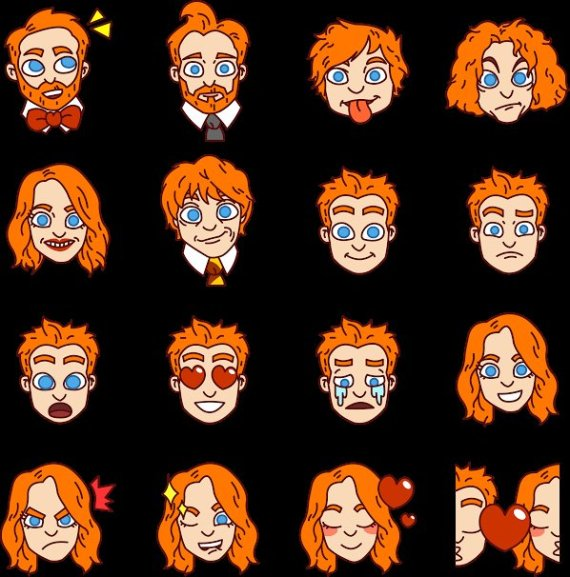 Redhead clipart secy Emoji Demanded Their  So