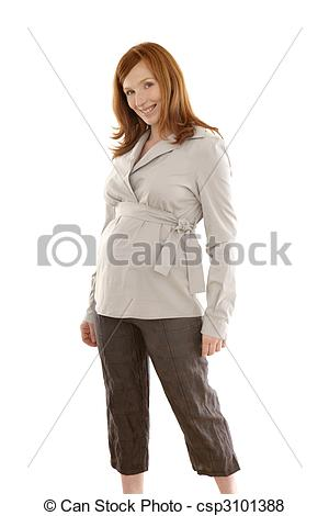 Redhead clipart woman fashion Of portrait woman isolated redhead