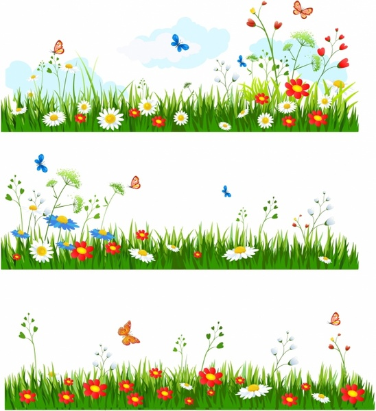 Reed clipart nature cartoon (1 and vector) grass Grass