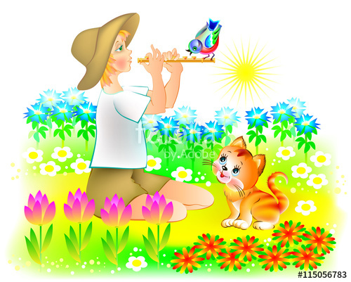 Reed clipart nature cartoon Photos Search pipe reed