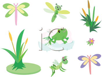 Reed clipart pond plant Clipground Pond clipart Clipart plant