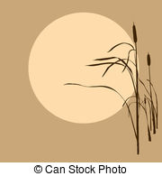Reed clipart sun background Illustrations Clipart Reed background reed
