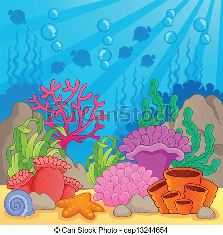 Ocean clipart great barrier reef Coral Reef 158 Savoronmorehead Clipart
