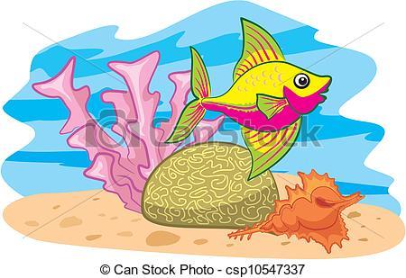 Reef clipart vector #6