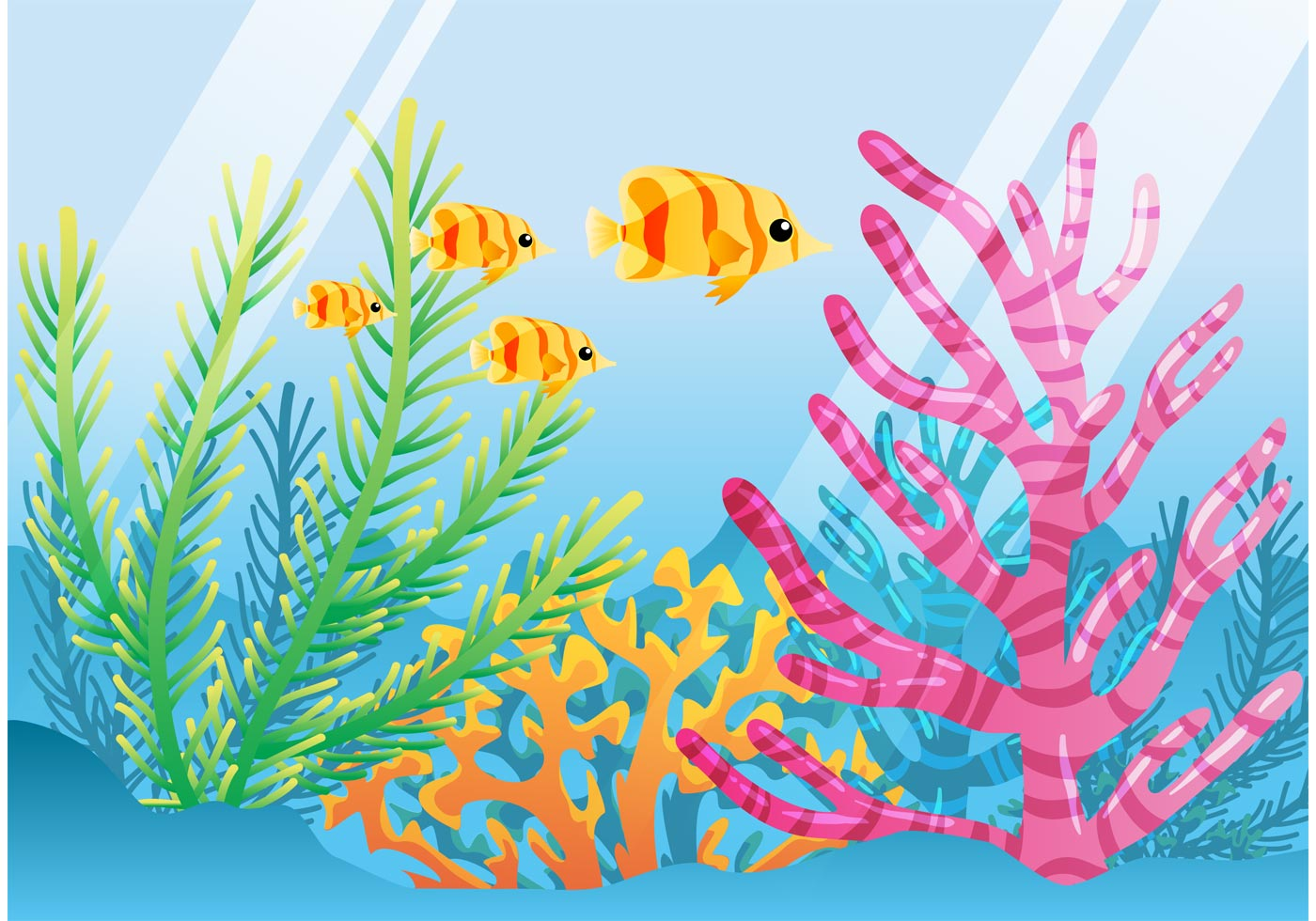 Reef clipart vector #3