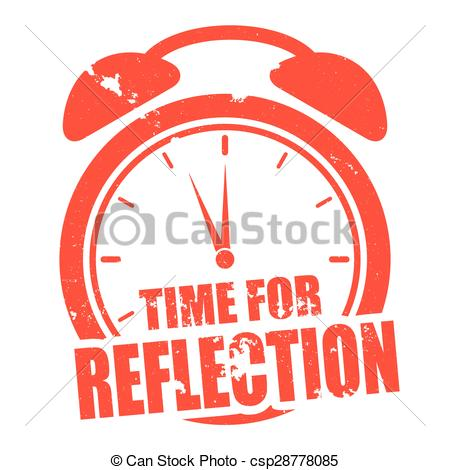 Reflection clipart Time illustration of for Reflection