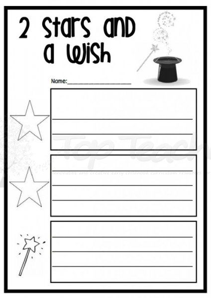 Reflection clipart educational assessment #8