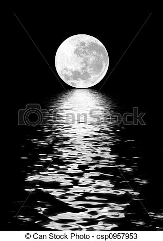 Moonlight clipart full moon Moon csp0957953 Beauty of Moon
