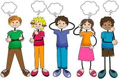 Reflection clipart kid question Here partner or partners or