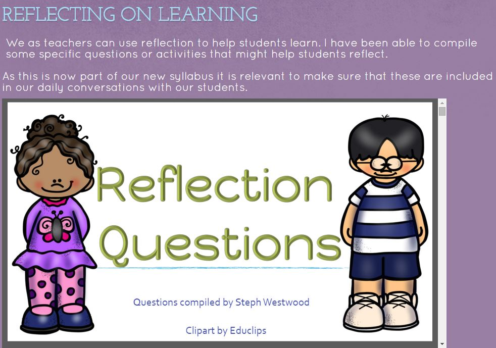 Reflection clipart learning #14