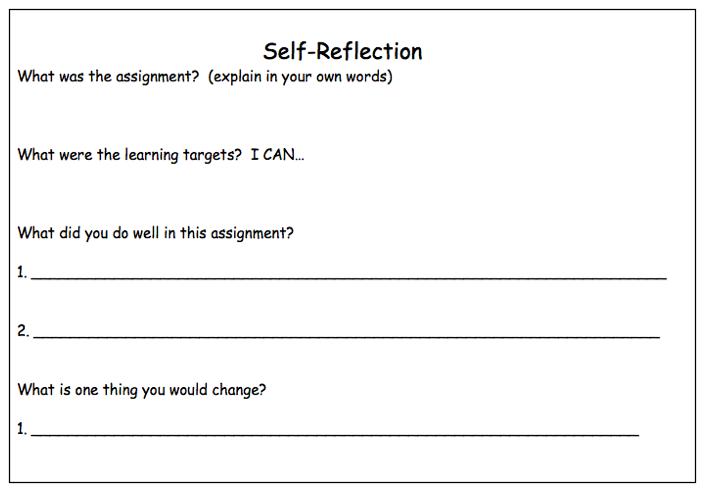 Reflection clipart lesson plan #11